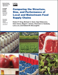 USDA Food Supply Chains report cover